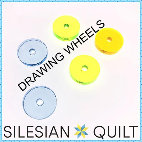 Drawing wheels