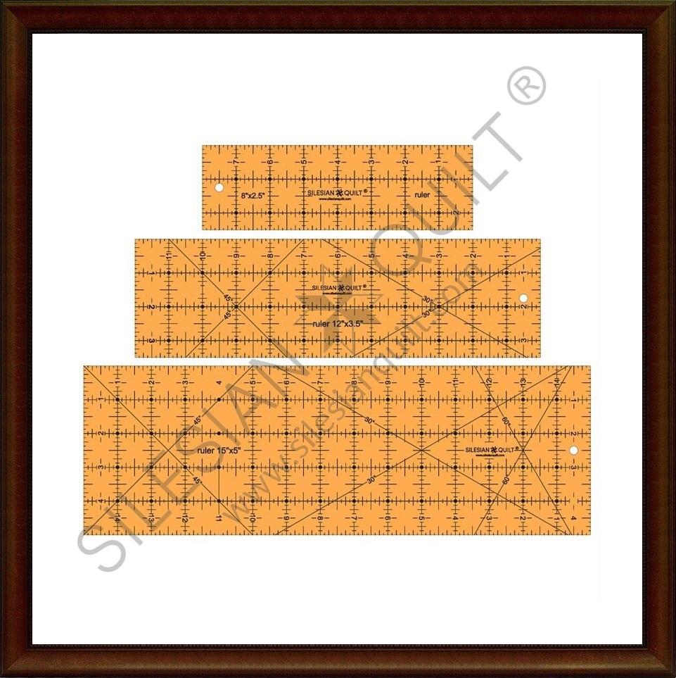 Lineal zum Schneiden von Lineale Set