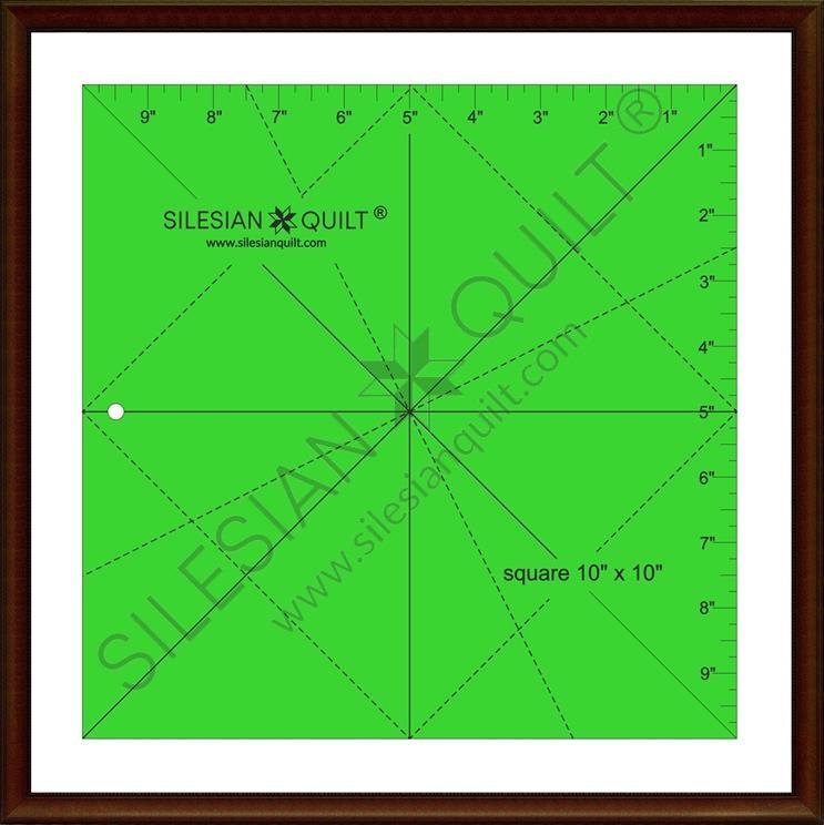 Quadrat 10 Zoll