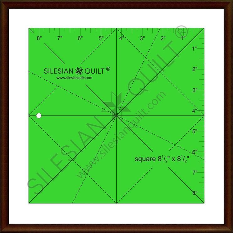 Quadrat 8,5 Zoll