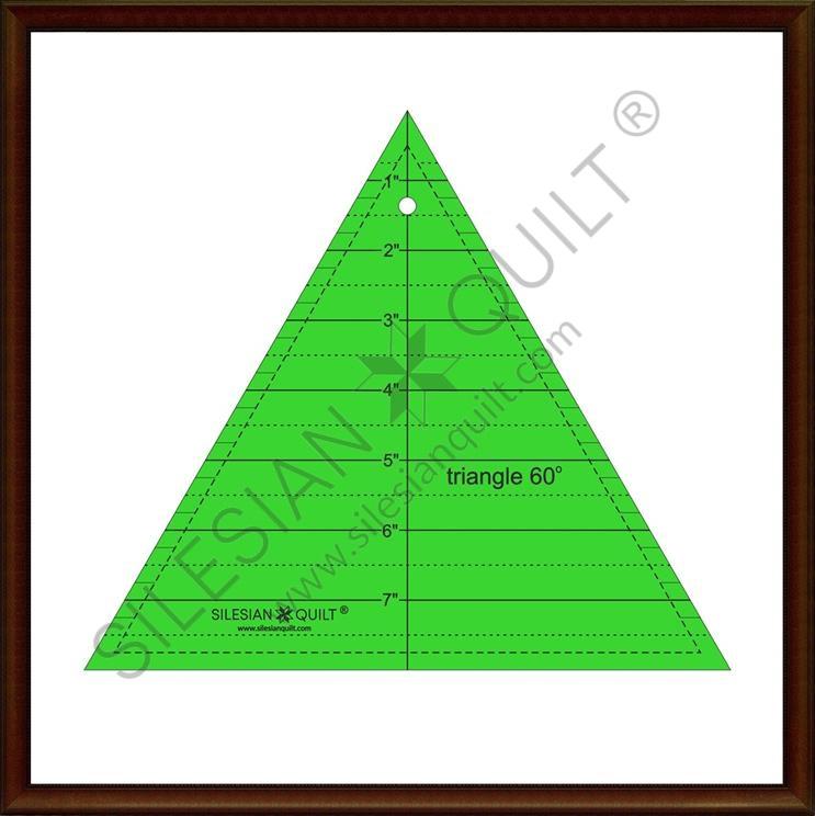 Dreieck 60 ° 8 Zoll